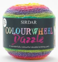 Sirdar Colourwheel Dazzle DK 150g - RRP £12.27 OUR CLEARANCE PRICE £3.99